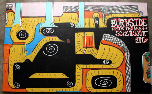 Burnside canvas web