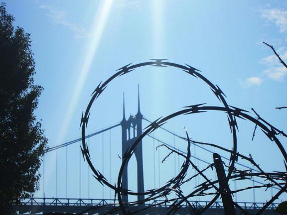 SJ Bridge Razor Wire_web